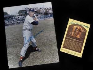 Ted Williams (feet in stance)
