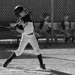 Boy swinging baseball bat 1