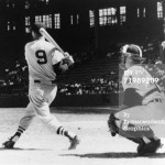 Ted Williams' follow through